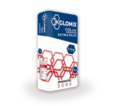 GLOMIX COL 530 EXTRA PLUS Adhesivo blanco tipo C1 TE Extra Plus